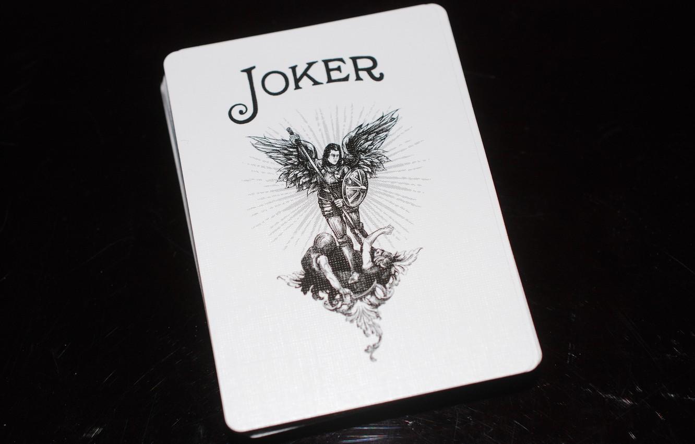 Фото обои джокер, карта, покер