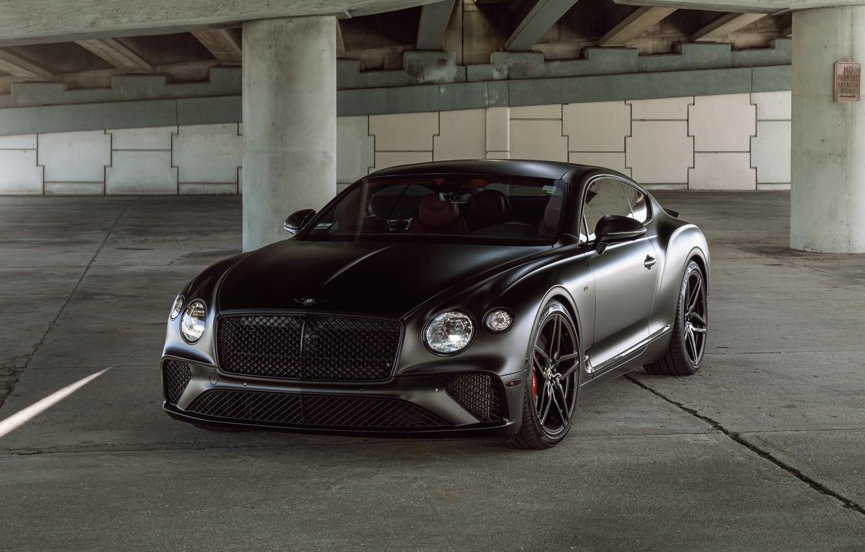 Фото обои Bentley, Continental, Black
