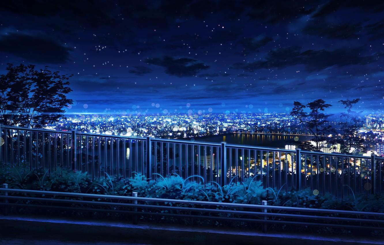 Обои ночь, Вода. Города foto 17