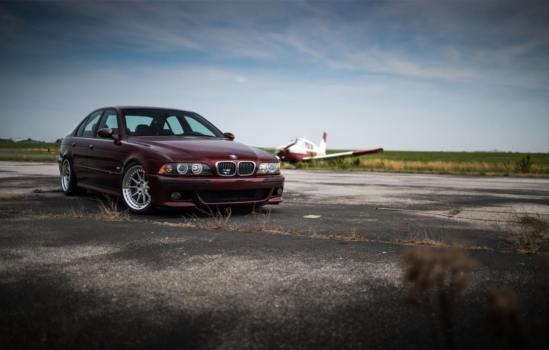 Фото обои BMW, Cherry, Classic, Legend, E39, Sight