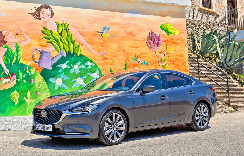 Фото обои Mazda, Mazda 6, Mazda 6 2018