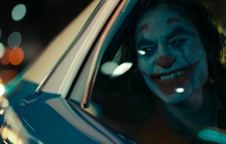 Фото обои клоун, Джокер, триллер, драма, Joker