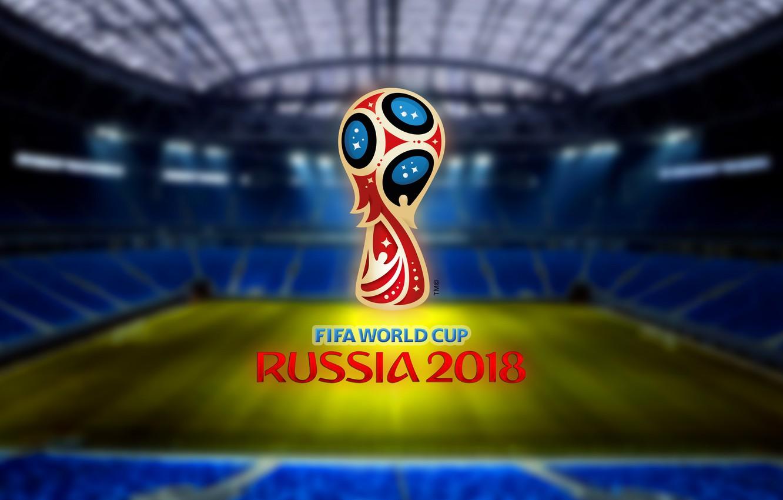 Фото обои Спорт, Лого, Футбол, Санкт-Петербург, Логотип, Россия, Zenit, 2018, Stadium, ФИФА, FIFA, СПБ, Санкт Петербург, Saint …