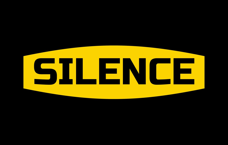 Фото обои надпись, слово, silence, молчание