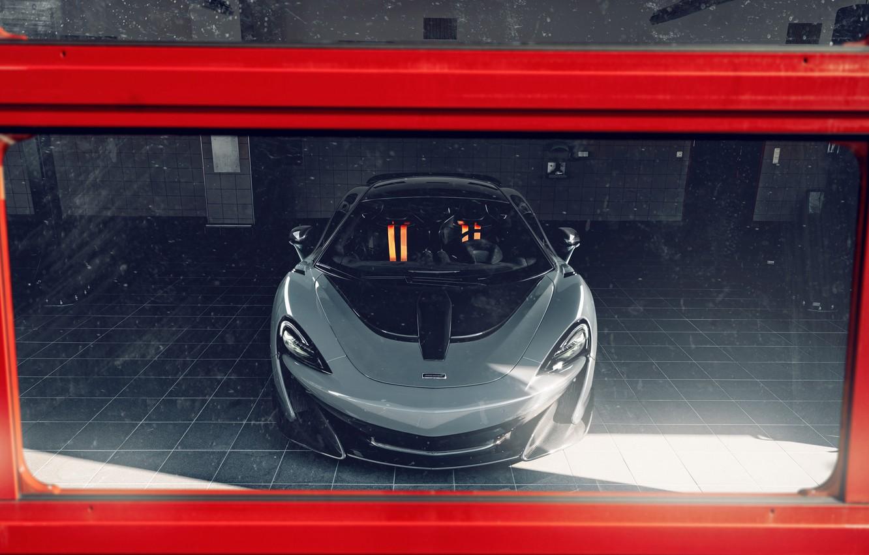 Фото обои McLaren, спорткар, боксы, Novitec, 600LT