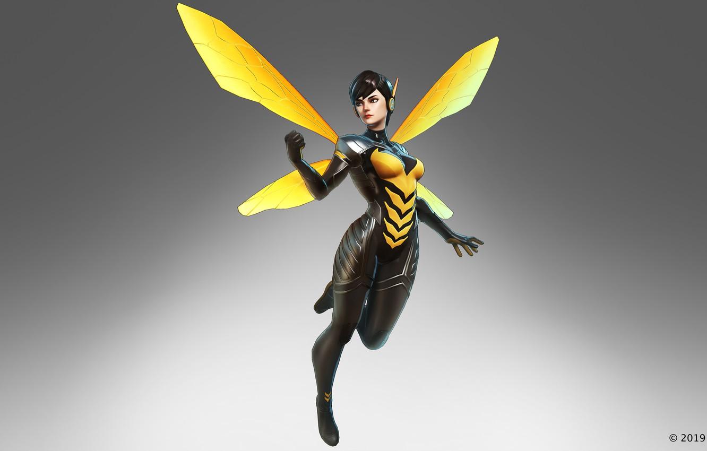 Фото обои marvel, wasp, Janet van Dyne, the black order, marvel ultimate alliance 3