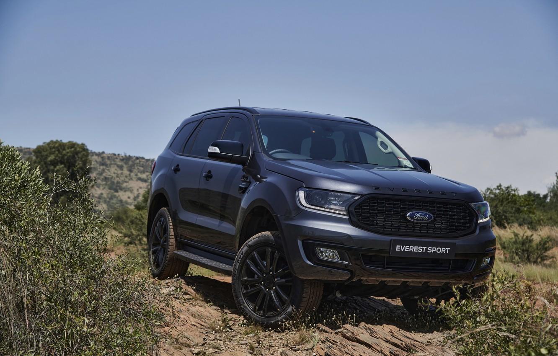 Фото обои Ford, Sport, Everest, 4WD, среднеразмерный, 2021