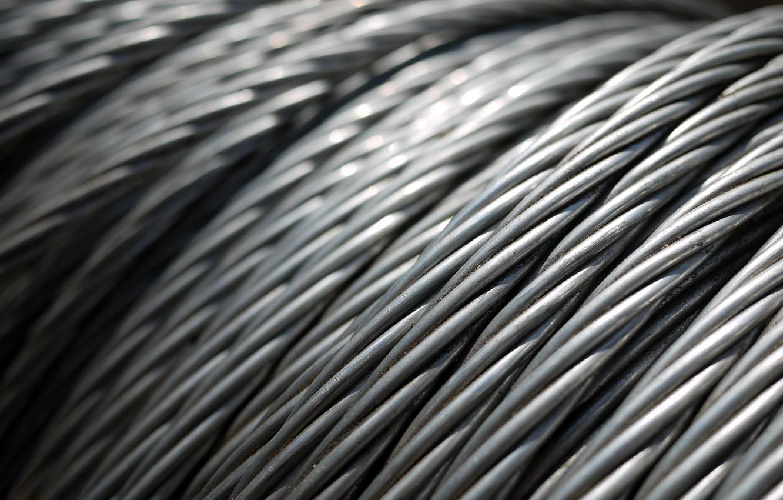 Фото обои проволока, метал, железо, верёвка