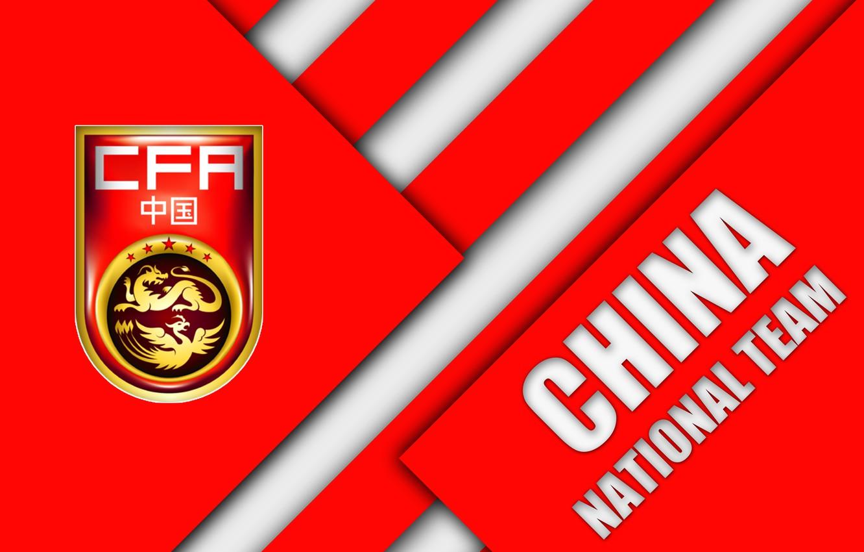 Фото обои China, Logo, Soccer, FIFA, Emblem, AFC, China National Football Team