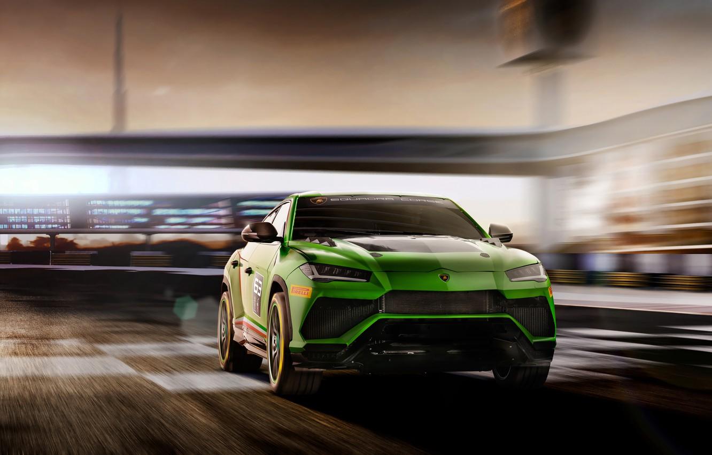 Фото обои Concept, скорость, Lamborghini, Urus, 2019, ST-X