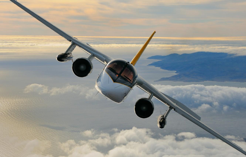 Фото обои Lockheed, Viking, S-3, US Navy, противолодочный самолёт