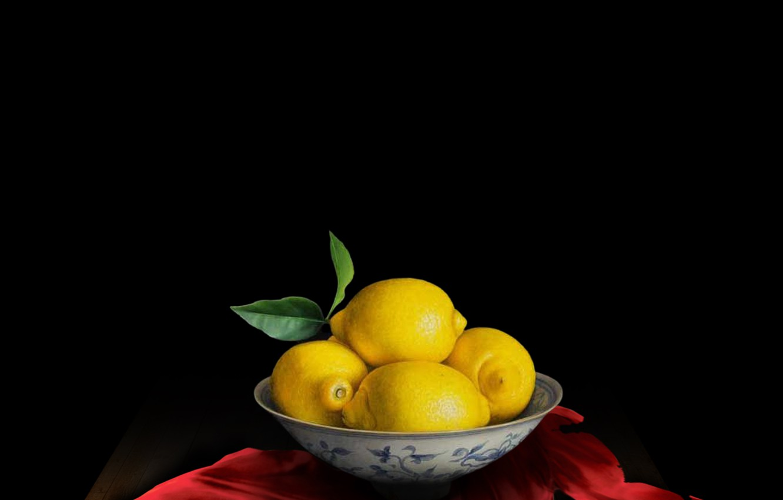 Фото обои still life, table, decoration, cloth, limes