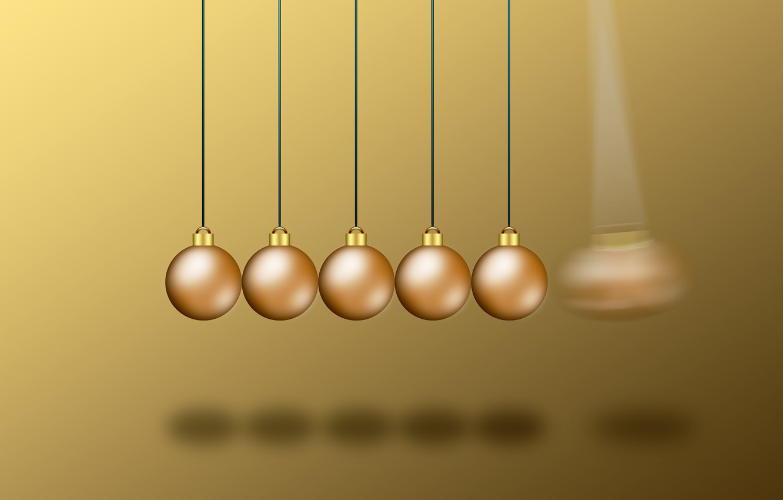 Фото обои шарики, время, шары, обои, удары, отсчет, шарики фон