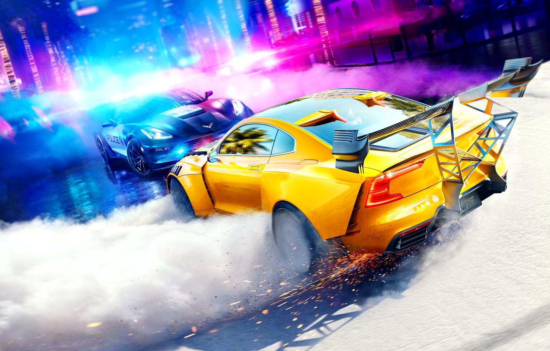 Фото обои машины, NFS, Need for Speed: Heat