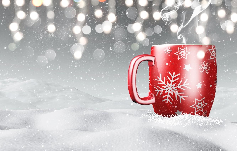 этой картинки чашек зимой них ещё