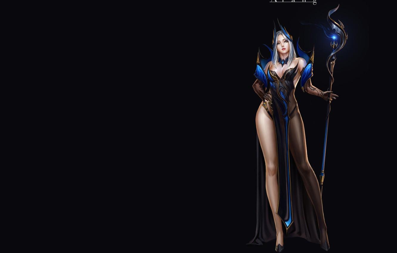 Фото обои фэнтези, арт, Magician, дизайн костюма, TaeKwon Kim(A-rang)