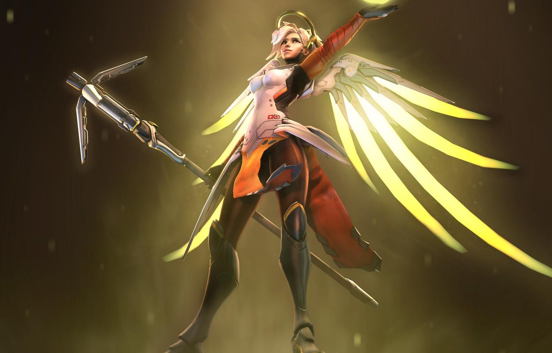 Ангел из овервотч картинки