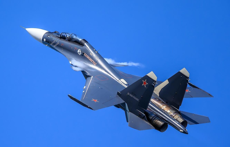 Обои летит, синее небо, F-15E, небо, боевой самолет. Авиация foto 12
