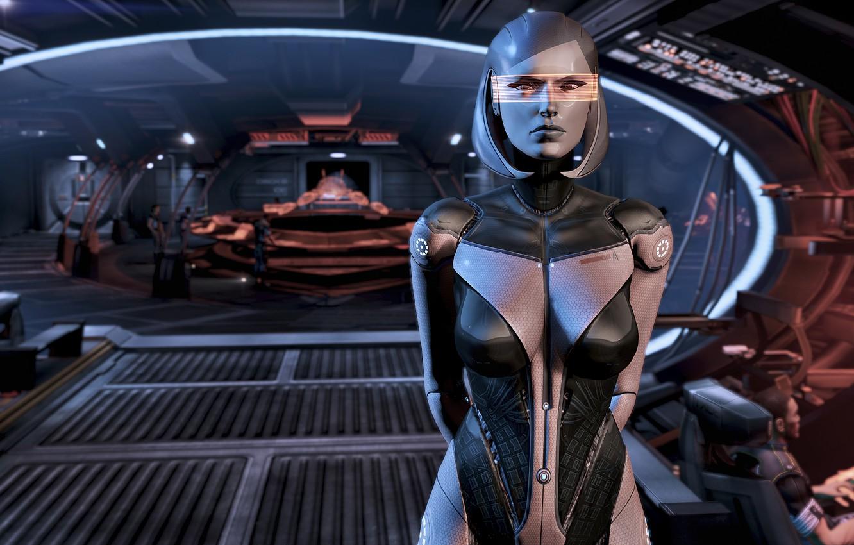 Фото обои Mass Effect, Mass Efect 2, Mass Effcet 3, IDA