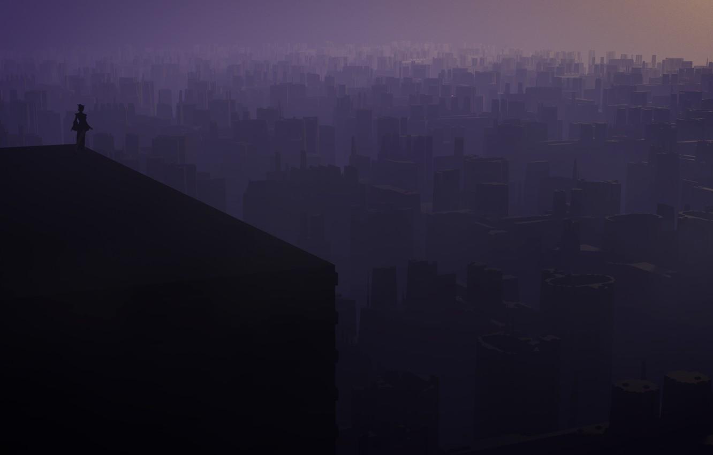 Фото обои city, город, si-fi, sifi