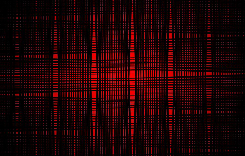 Фото обои красный, абстракция, чёрный, red, black, нити, fon, string