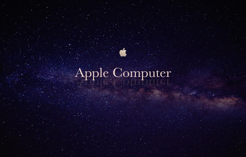Фото обои Apple, Космос, Компьютеры