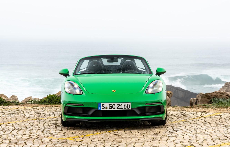 Фото обои Porsche, porsche 718, Porsche 718 Boxster GTS