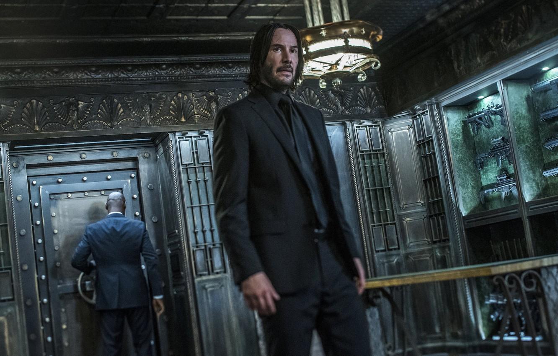 Фото обои металл, оружие, сейф, костюм, guns, weapon, Киану Ривз, Keanu Reeves, suit, safe, Parabellum, John Wick, …