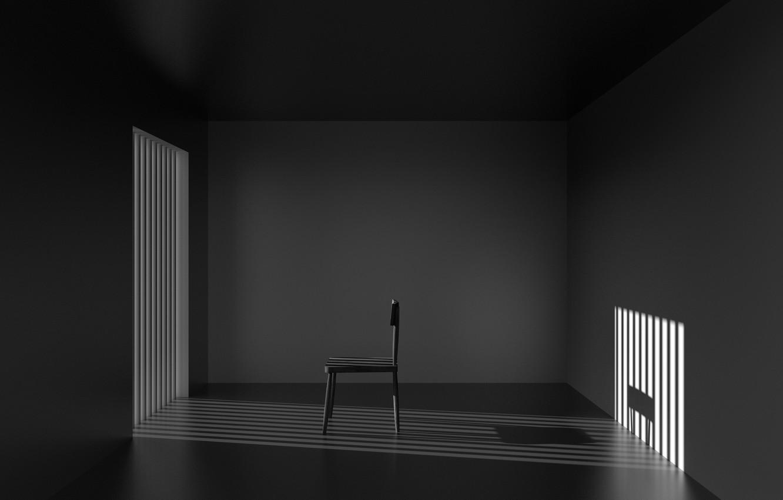 Фото обои свет, комната, тень, стул, light, chair, room, shadow, Antonyus Bunjamin (Abe)