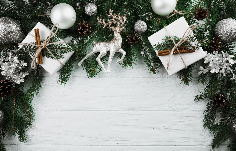 Фото обои шары, елка, Новый Год, Рождество, подарки, Christmas, balls, wood, New Year, decoration, gifts, Merry, fir …