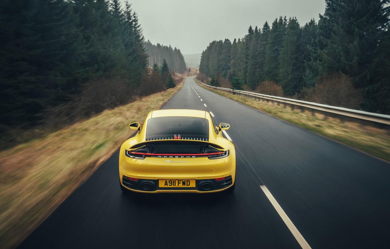 Фото обои 911, Porsche, Carrera 4S, 2019