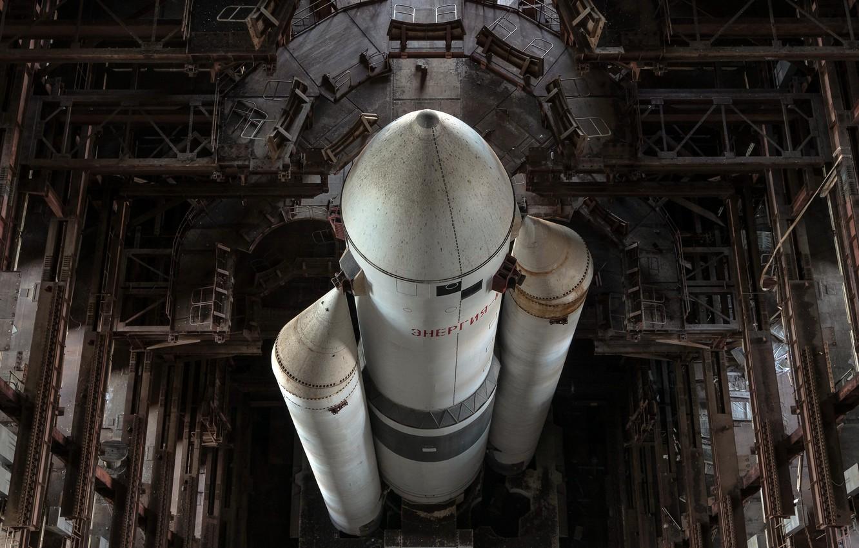 Фото обои ракета, док, энегрия