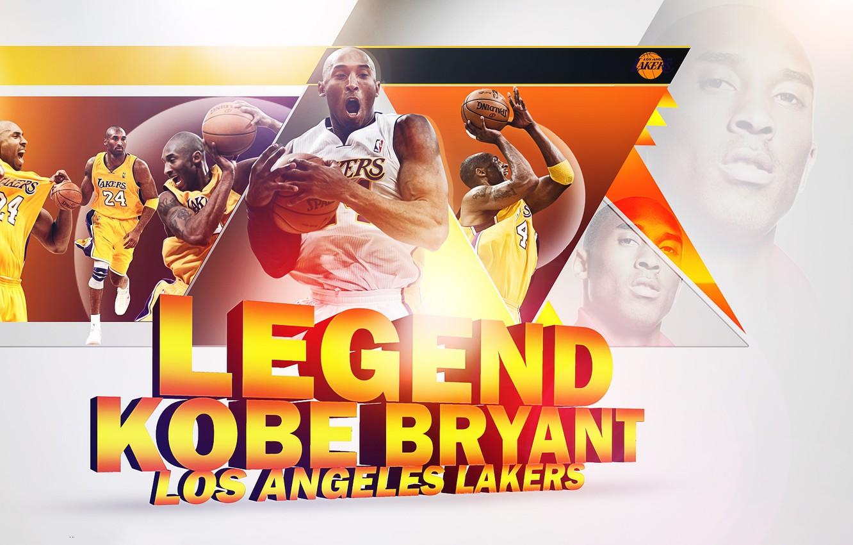 Фото обои Legend, NBA, Lakers, Kobe Bryant, Basketball, Bryant, Kobe, Los Angeles Lakers, Black Mamba, LA Lakers
