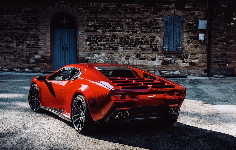 Фото обои купе, тень, V10, корма, De Tomaso Pantera, Huracán, Lamborghini Huracan, 2020, двухдверное, Project1, Panther ProgettoUno, …