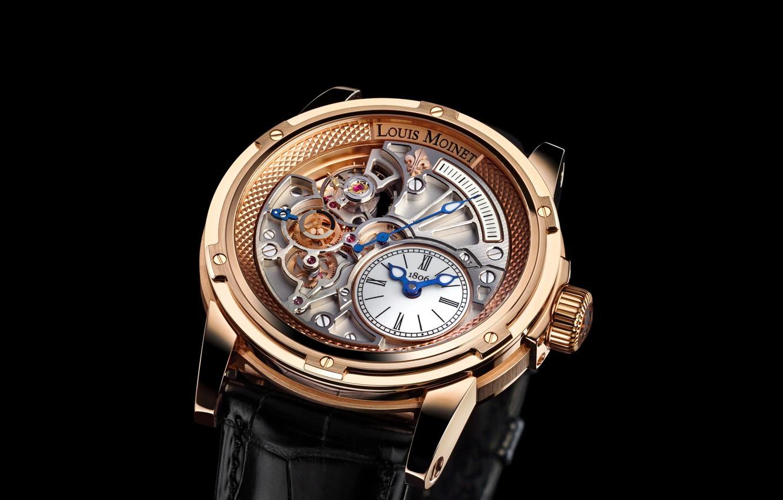 Фото обои часы, Louis Moinet, Tempograph
