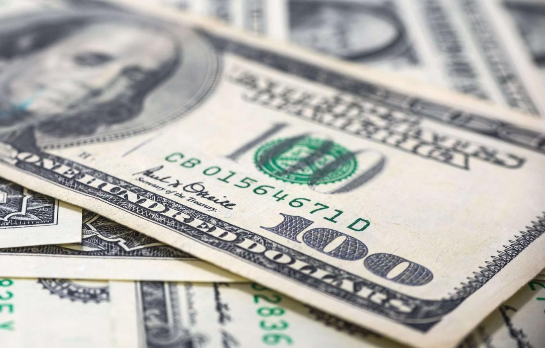 Фото обои деньги, доллары, валюта, банкнота