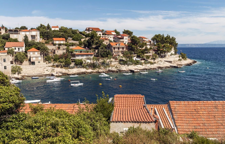 Обои курорт, Croata, дома. Города foto 7