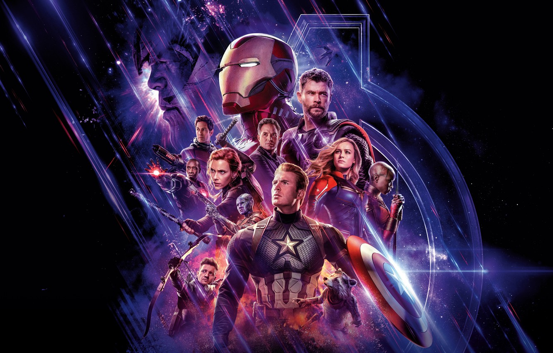 Фото обои Scarlett Johansson, Action, Fantasy, Superheroes, Hulk, Space, Darkness, Galaxy, Men, Girls, Nebula, Iron Man, The, …