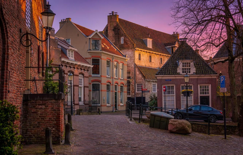 Фото обои дома, Нидерланды, Amersfoort