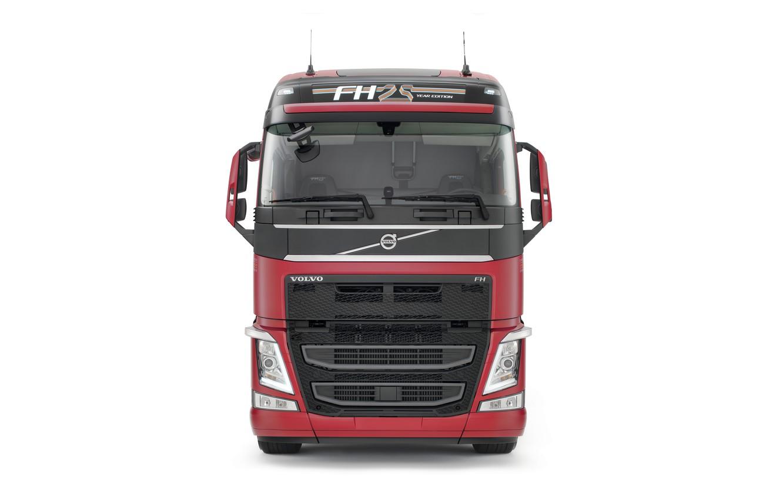 Фото обои Volvo, кабина, спереди, FH 500, Globetrotter XL