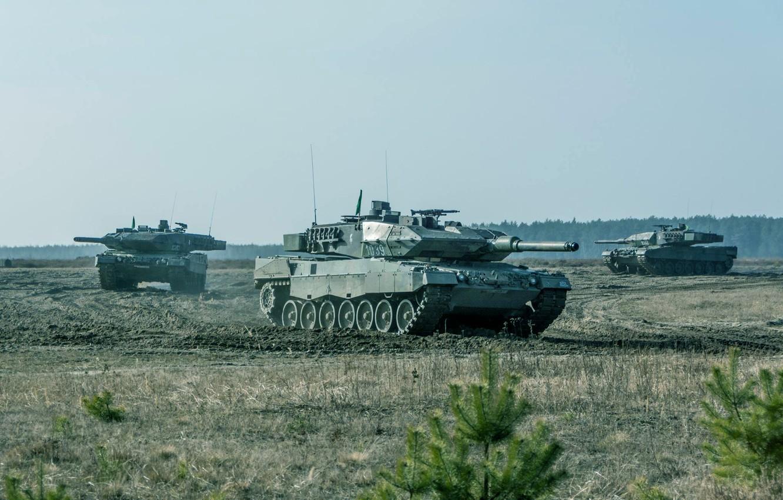 Фото обои Germany, Танки, Bundeswehr, Leopard 2A7