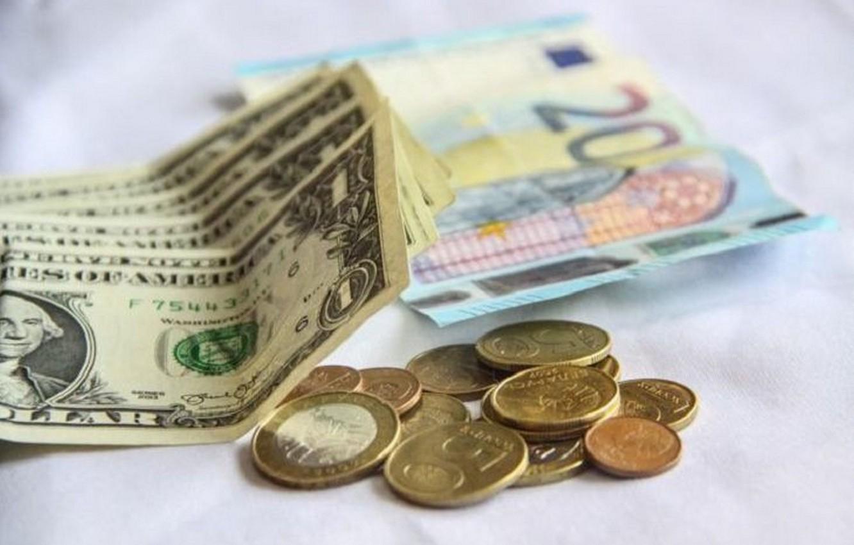 Фото обои деньги, евро, доллары
