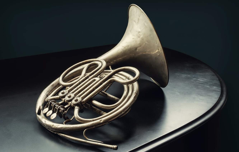 Фото обои музыка, труба, инструмент