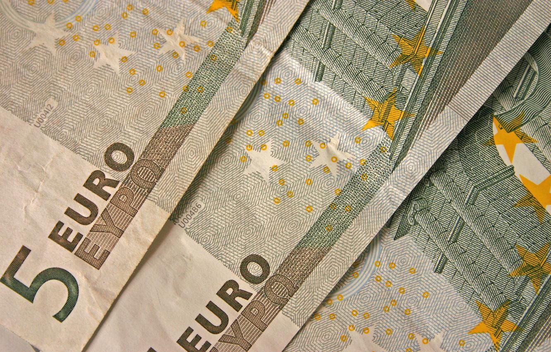 Фото обои деньги, евро, валюта