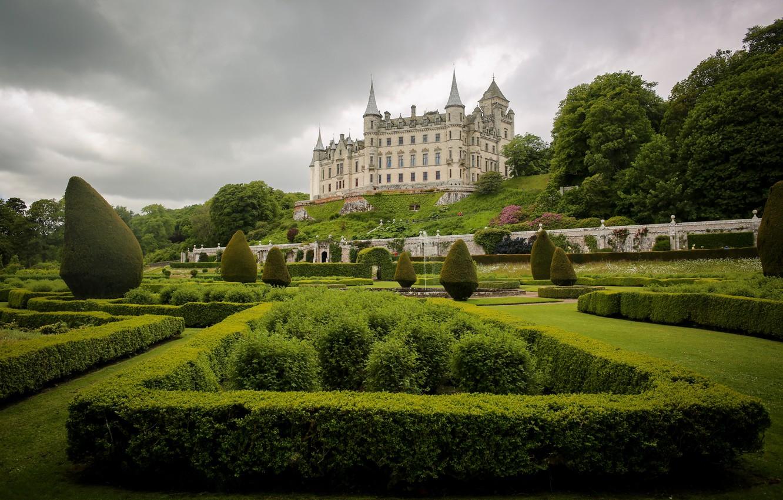 Обои scotland, Шотландия, sutherland, Dunrobin, замок. Города foto 6