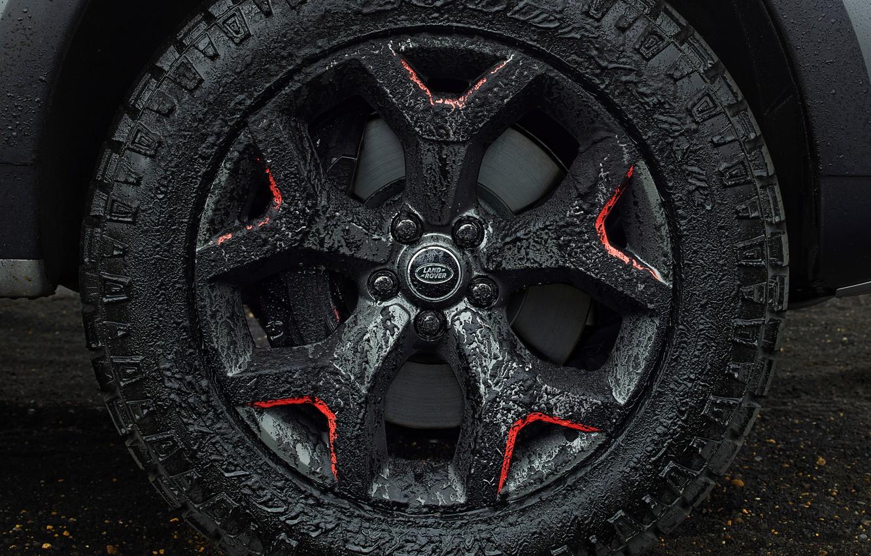Фото обои колесо, Land Rover, Discovery, 4x4, 2017, V8, SVX, 525 л.с., 5 л.
