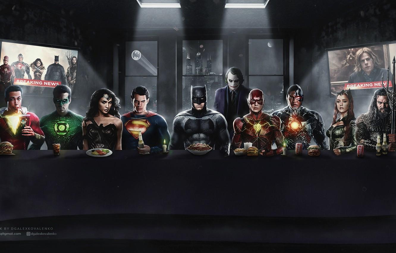 Фото обои batman, superman, железный человек, marvel, комикс, человек паук, супергерои, бэтман, бэтмен против супермена, aquaman, аквамен, …