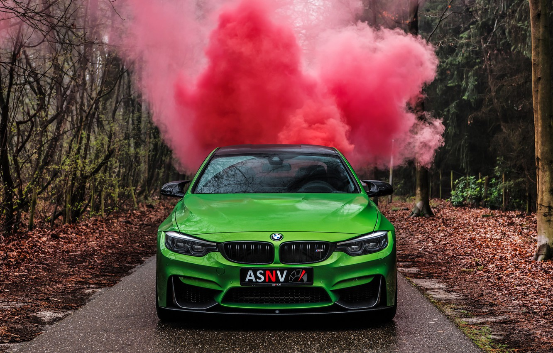 Фото обои BMW, Green, M-Performance