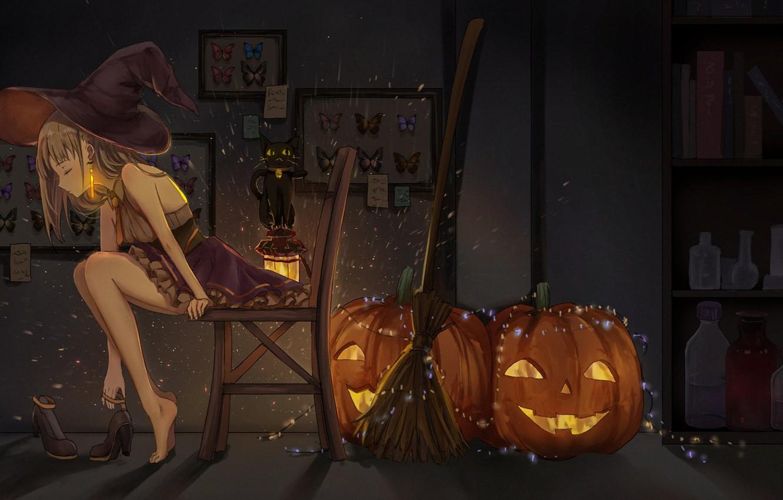Обои ведьмочка. Разное foto 11