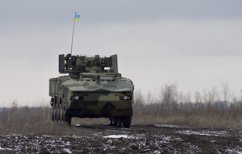 Фото обои Украина, ОКБ имени Морозова, БМ-7 «Парус», БТР-4МВ